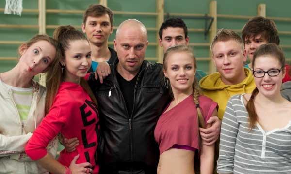 Нагиев и молодые актеры