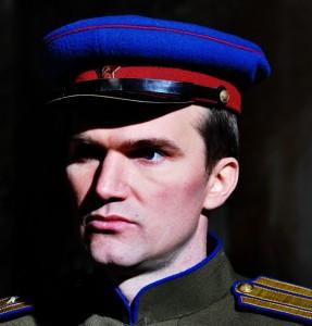 Кадры Егором Бариновым в советской форме